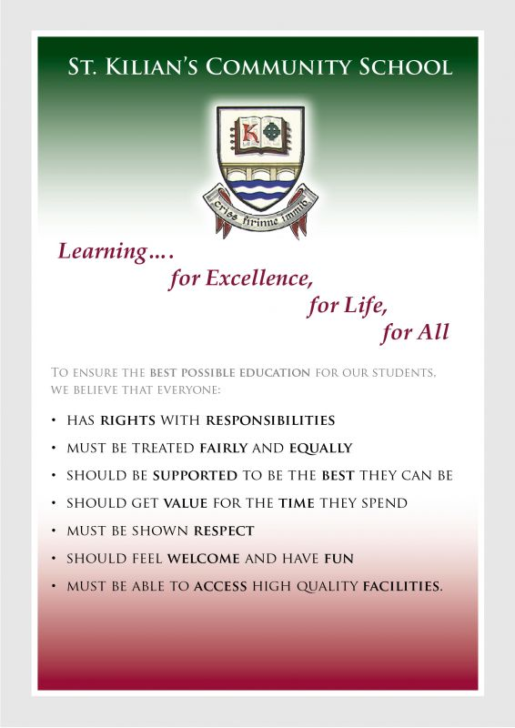 Mission Statement for St. Kilian's Community School